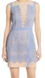 Revolve Greylin Lana Illusion Lace Sheath Dress